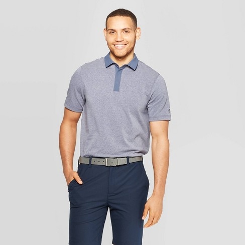 45544a6df Men s Golf Polo T-Shirt - C9 Champion® Blue Heather   Target