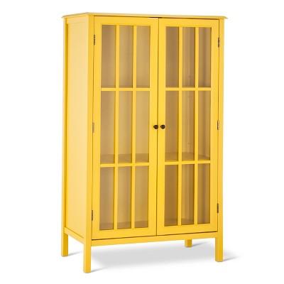 Beau Windham Library Storage Cabinet   Yellow   Threshold™