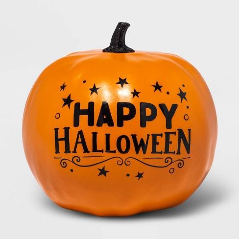 8 X 6 Orange Happy Halloween Decorative Pumpkin Hyde Eek Boutique Target
