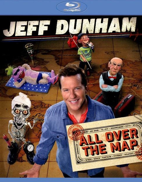 Jeff Dunham:All Over The Map (Blu-ray) - image 1 of 1