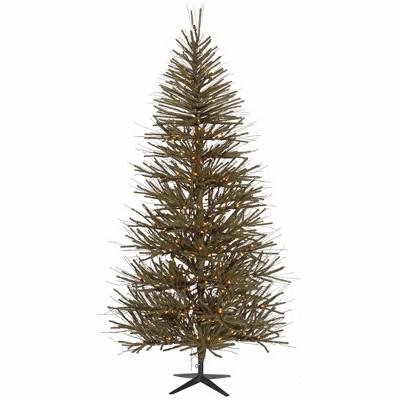 Vickerman 10' Prelit Artificial Christmas Tree Vienna Twig - Clear Lights