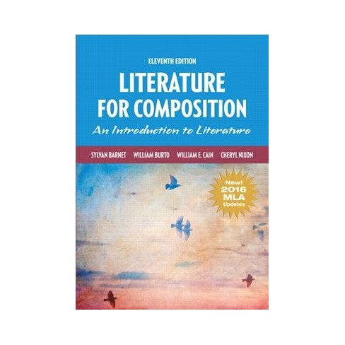 literature for composition an introduction to literature new mla