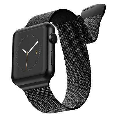 X-Doria Hybrid Mesh Band for 42mm Apple Watch - Black/Black