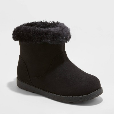Toddler Girls' Alani Faux Fur Shearling Boots - Cat & Jack™