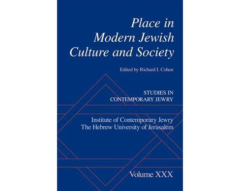 Place in Modern Jewish Culture and Society -  (Hardcover) - image 1 of 1