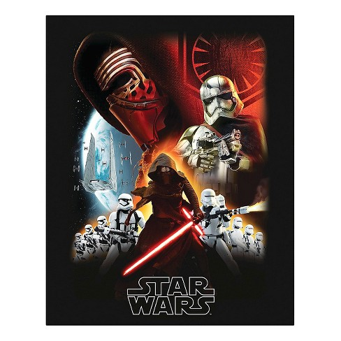 Star Wars Episode 7 16x20 Canvas - image 1 of 1