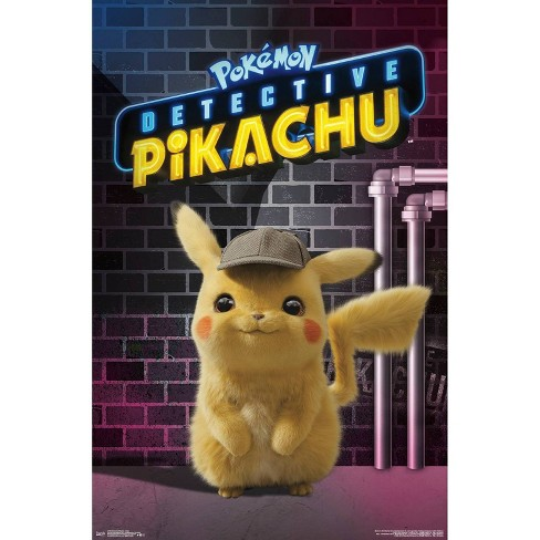 """34""""x23"""" Detective Pikachu Neon Unframed Wall Poster Print - Trends International - image 1 of 2"""