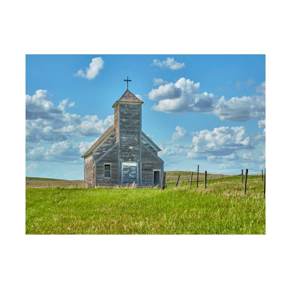 24 34 X 32 34 James Mcloughlin 39 Barn Scene V 39 Unframed Wall Canvas Trademark Fine Art