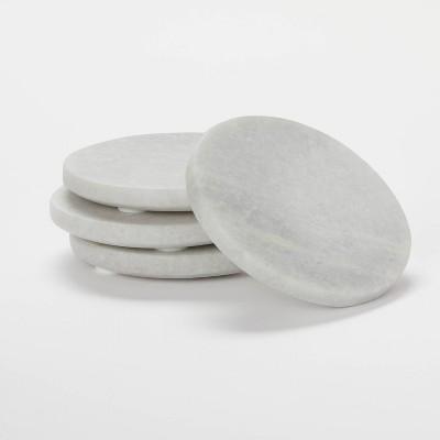 4pk Marble Coasters - Threshold™ designed with Studio McGee