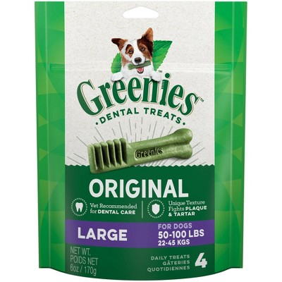 Dog Treats: Greenies Large Breed