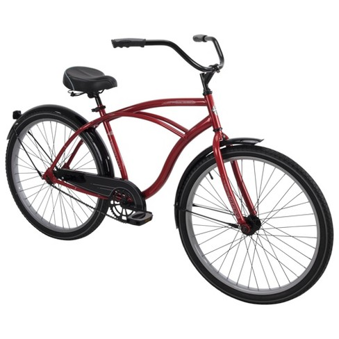 "Huffy Men's Good Vibrations 26"" Cruiser Bike - Red - image 1 of 4"