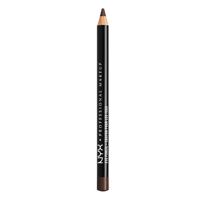 NYX Professional Makeup Slim Eye Liner Pencil - Black Brown - 0.04oz