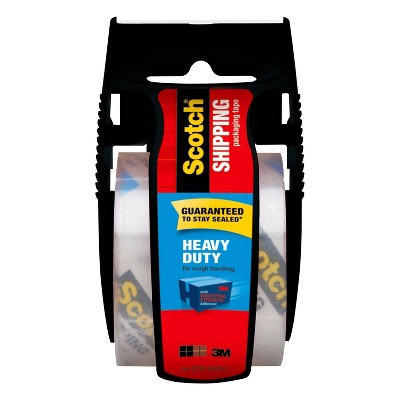 Scotch Heavy Duty Shipping Packaging Tape with Dispenser