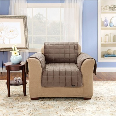 Antimicrobial Deluxe Comfort Quilted Chair Furniture Protector - Sure Fit