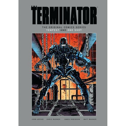 The Terminator: The Original Comics Series-Tempest and One Shot - by  John Arcudi (Hardcover) - image 1 of 1