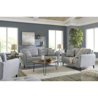 Cardello Sofa Steel Gray Signature Design By Ashley Target