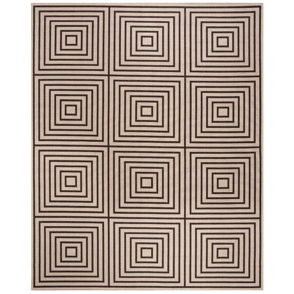 8'X10' Geometric Loomed Area Rug Natural/Brown - Safavieh