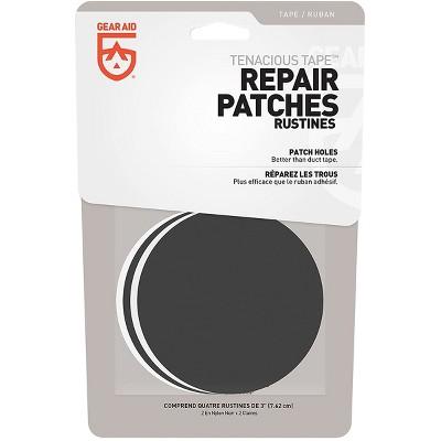 Gear Aid Tenacious Tape Repair Patches - Clear/Black