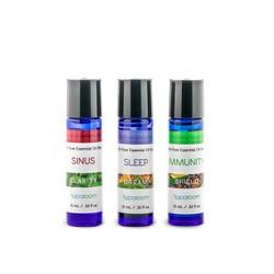 3pk 10ml Sparoom Holistic Pack 100% Pure Essential Oil Sinus, Sleep & Immunity