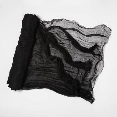 12.5' Jumbo Gauze Cloth Black Halloween Decorative Prop - Hyde & EEK! Boutique™