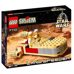 LEGO Star Wars A New Hope Landspeeder Set #7110 [New]