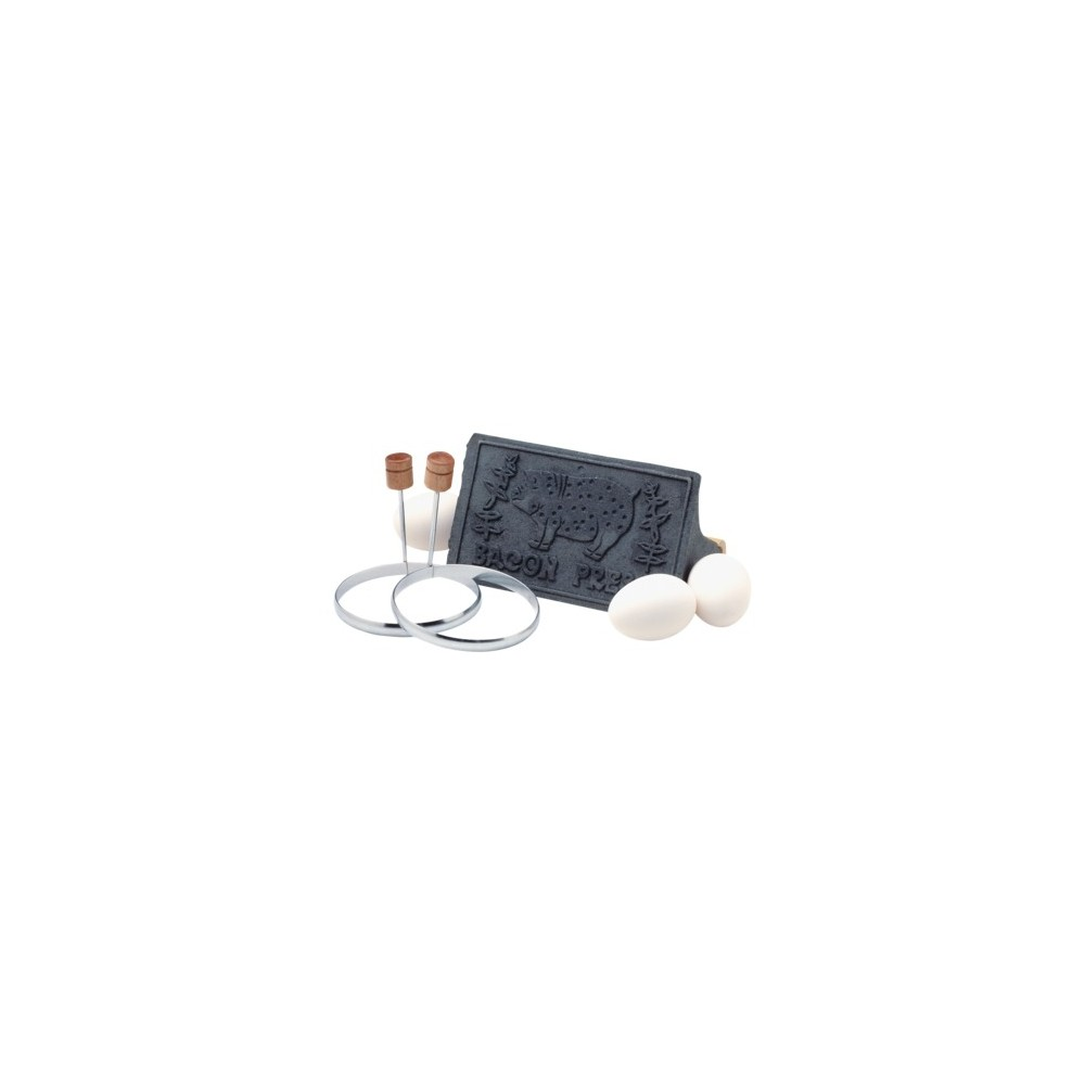 Image of Bacon Press and Egg-Ring 3-pc. Set