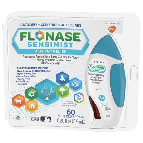 Flonase Sensimist Allergy Relief Nasal Spray - Fluticasone Furoate    - image 1 of 4