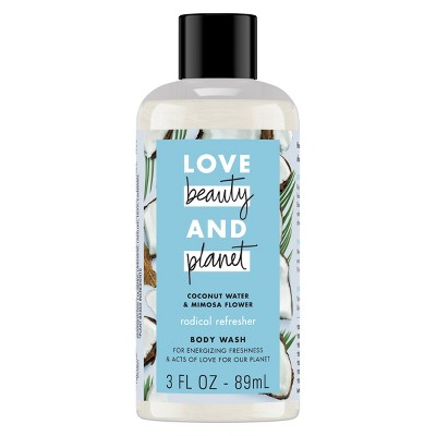 Love Beauty Planet Radical Refresher - Coconut Water + Mimosa - 3oz