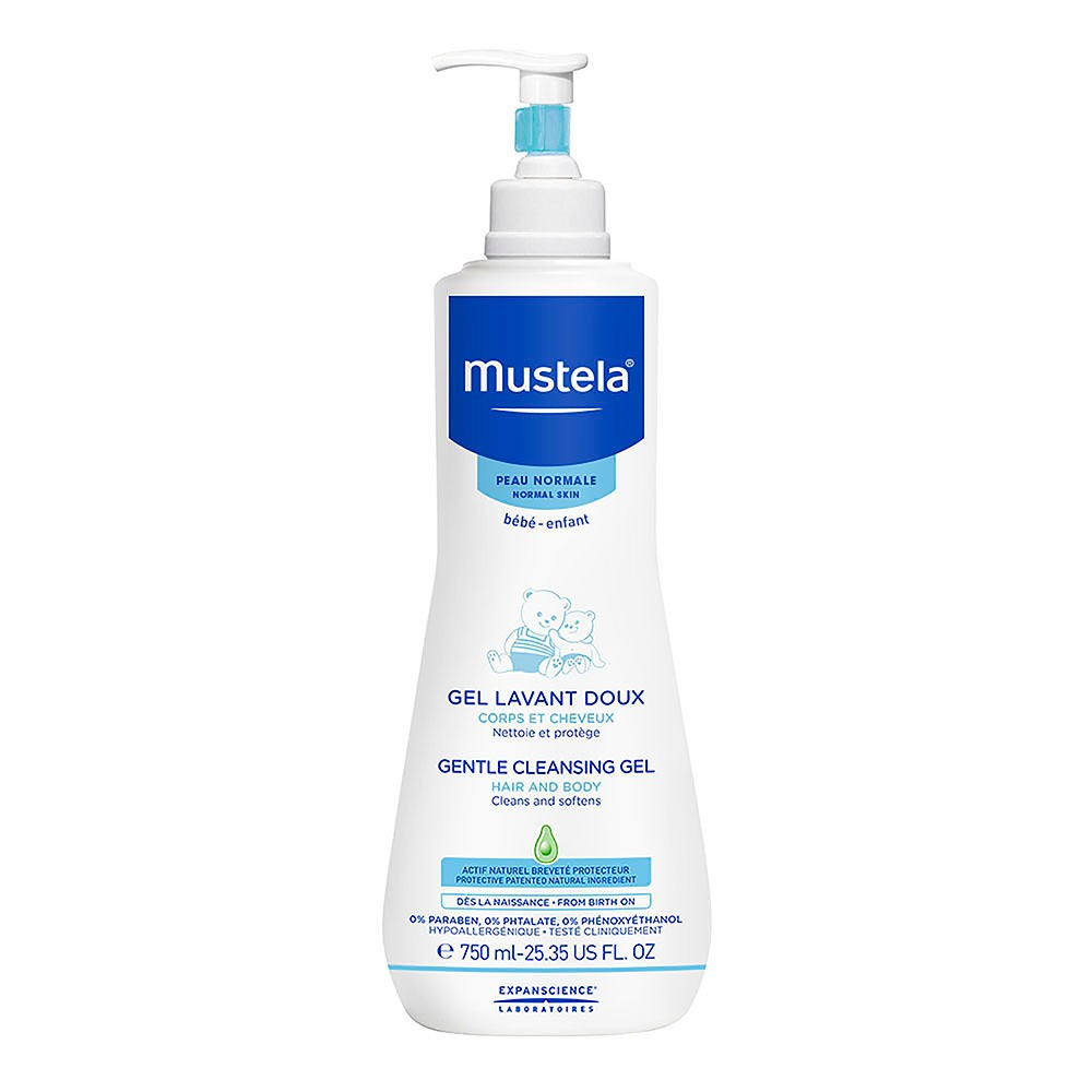 Mustela Gentle Cleansing Gel - 25.35oz