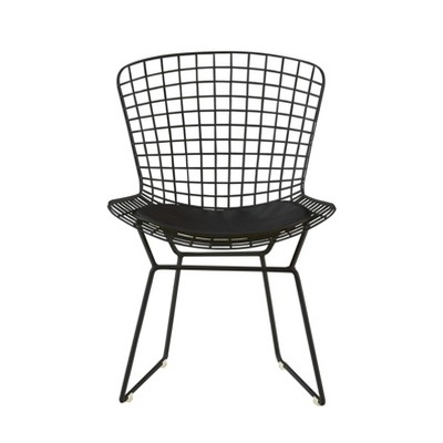 Set of 2 Holly Wire Chair - Adore Decor