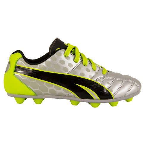 4f498e0b9a6694 Puma ProCat Youth Soccer Cleats - Silver   Green   Black   Target