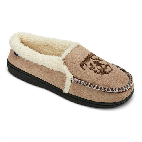Men's Ugly Me London Moccasin Slippers - image 1 of 4