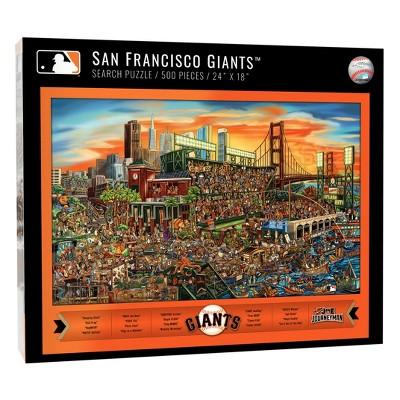 MLB San Francisco Giants 500pc Find Joe Journeyman Puzzle