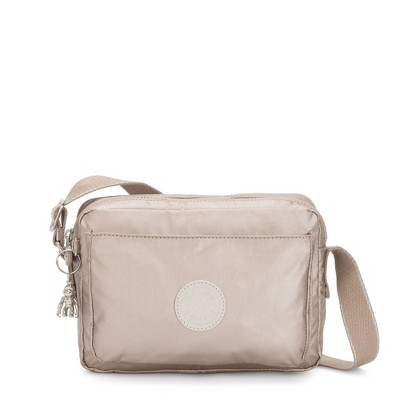 Kipling Abanu Medium Metallic Crossbody Bag