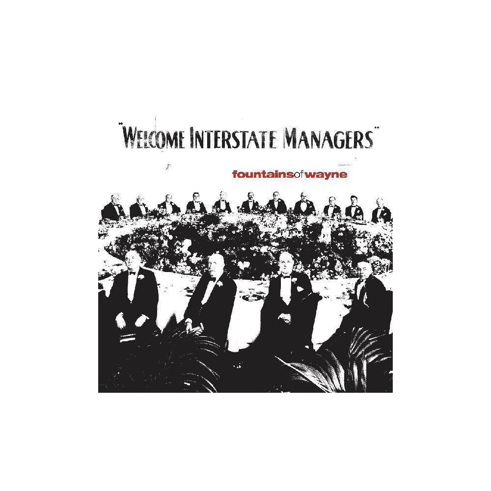 Fountains Of Wayne Welcome Interstate Managers Red Vinyl E