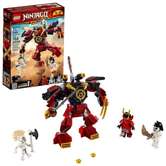 LEGO Ninjago Legacy Samurai Mech Action Toy Ninja Building Bricks Model 70665 image number null