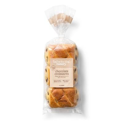 French Brioche Chocolate Croissants - 9.52oz - Favorite Day™