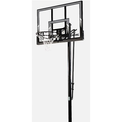 "Spalding NBA 48"" Poly Pro Glide In-Ground Basketball Hoop"