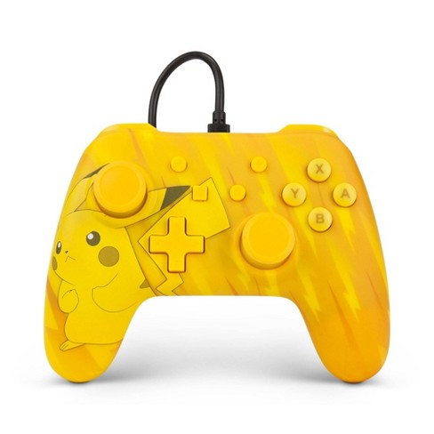 PowerA Pokemon Wired Controller for Nintendo Switch - Yellow - image 1 of 4