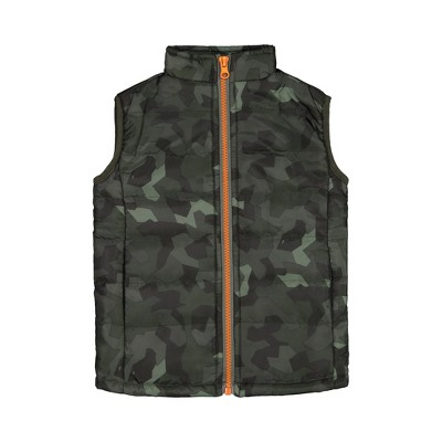 Andy & Evan  Toddler  Camo Puffer Vest