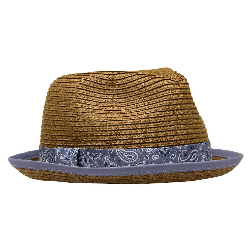 Toddler Girls' Fedora Hat - Brown 2T-5T