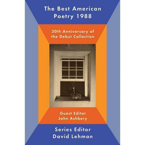 The Best American Poetry 1988 - (Paperback) - image 1 of 1