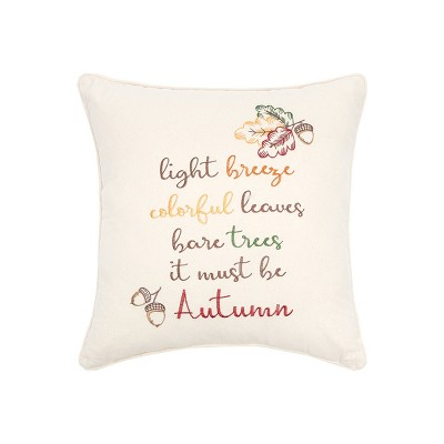 """C&F Home 20"""" X 20"""" It Must Be Autumn Pillow : Target"""