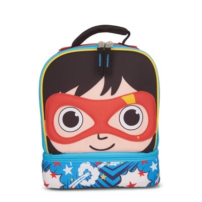 Ryan's World Masked Hero Kids' Dual Compartment Lunch Bag