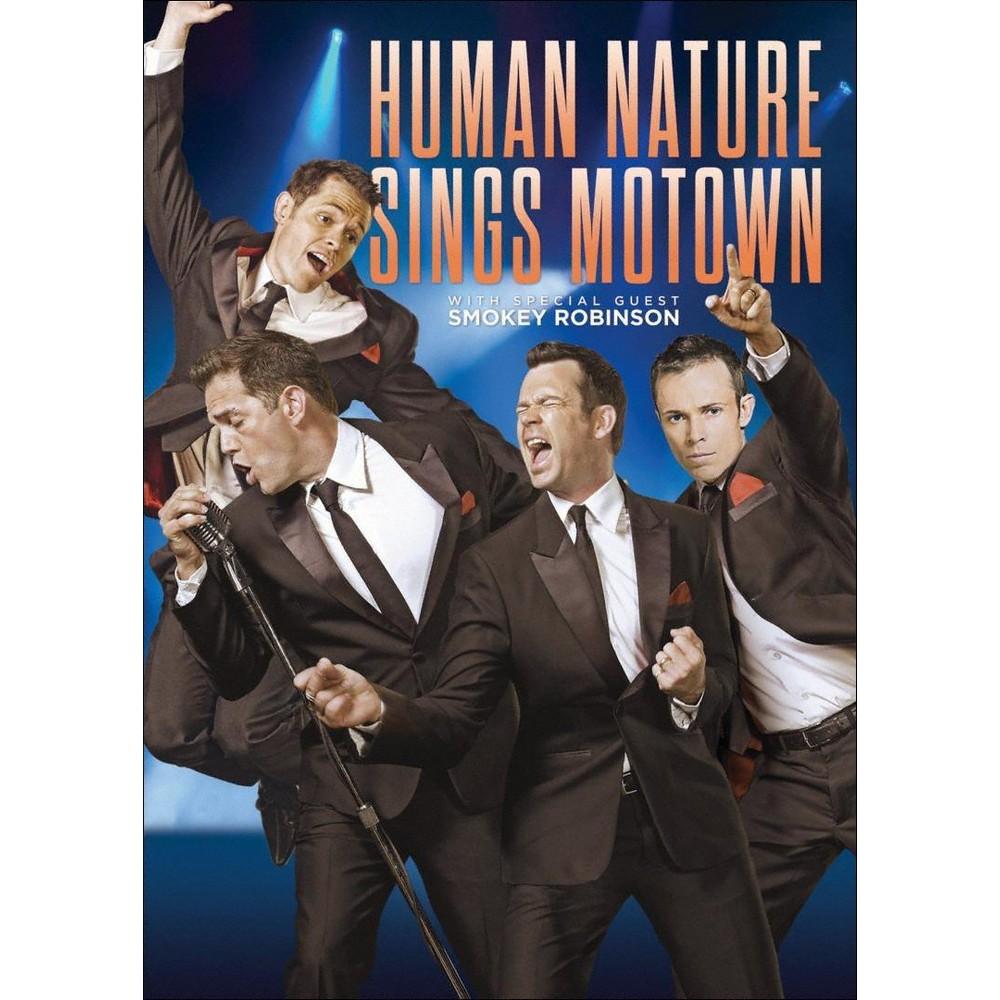 Human nature sings motown (Dvd)