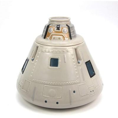 Crowded Coop, LLC NASA Apollo Capsule Ceramic Cookie Jar