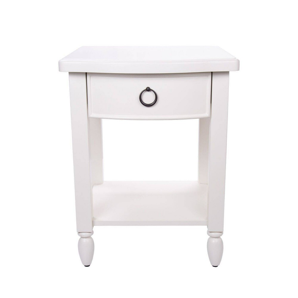 Farm House One Drawer Nightstand - Homepop was $279.99 now $209.99 (25.0% off)