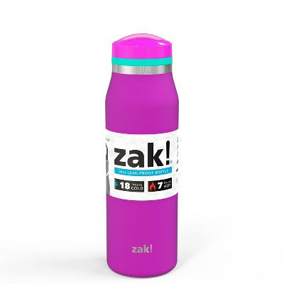 Zak! Designs 20oz Double Wall Stainless Steel Vacuum Insulated Tranquility Bottle