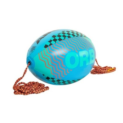 Airhead AHOR-12 Orb 60 Foot 4,100 Pound Tensile Strength Towable Boating Lake Tube Tow Rope Ball, Blue