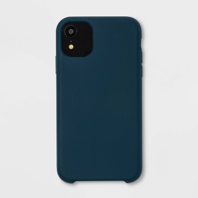 heyday™ Apple iPhone Silicone Case - Dark Teal